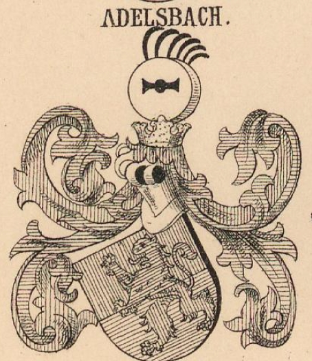 Adelsbach Coat of Arms / Family Crest 0