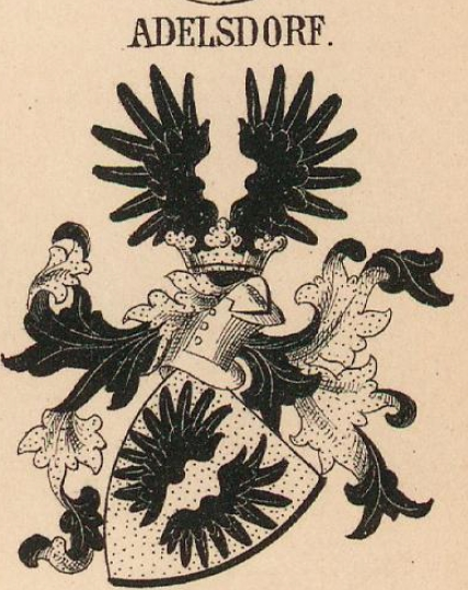 Adelsdorf Coat of Arms / Family Crest 0