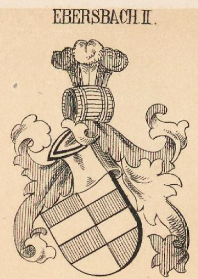 Ebersbach Coat of Arms / Family Crest 1