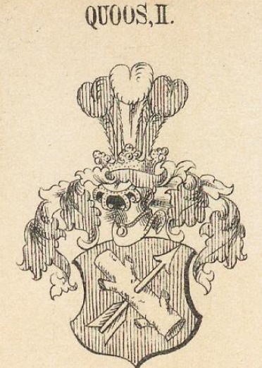 Quoss Coat of Arms / Family Crest 1