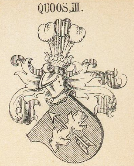 Quoss Coat of Arms / Family Crest 2