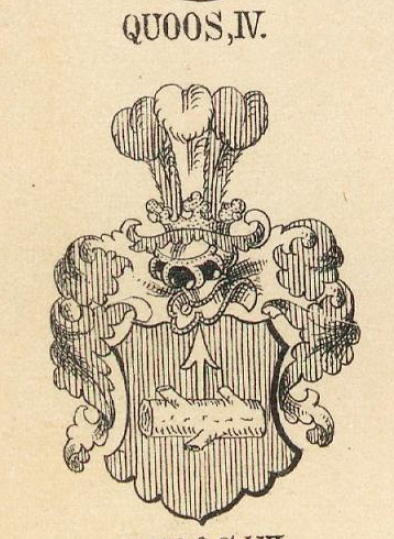 Quoss Coat of Arms / Family Crest 3