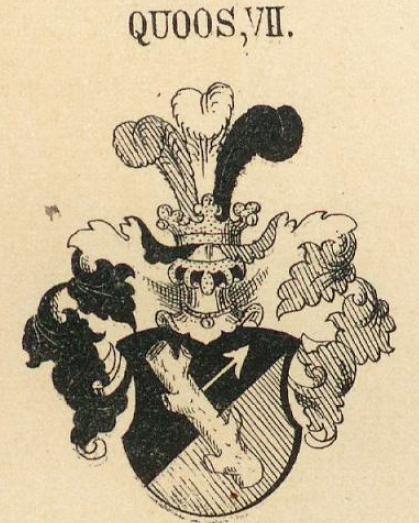 Quoss Coat of Arms / Family Crest 6