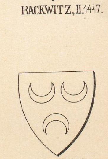 Rackwitz Coat of Arms / Family Crest 1