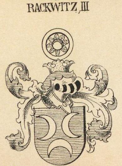 Rackwitz Coat of Arms / Family Crest 2