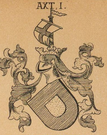 Axt Coat of Arms / Family Crest 2