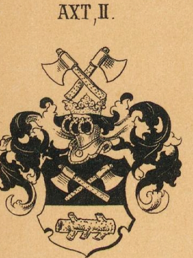 Axt Coat of Arms / Family Crest 3