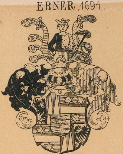 Ebner Coat of Arms / Family Crest 3