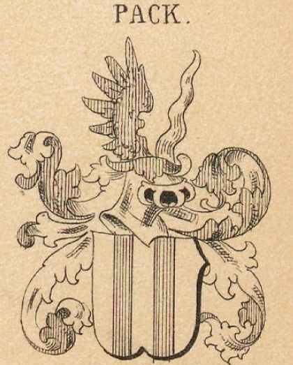 Pack Coat of Arms / Family Crest 3