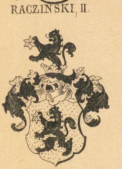 Raczinski Coat of Arms / Family Crest 1