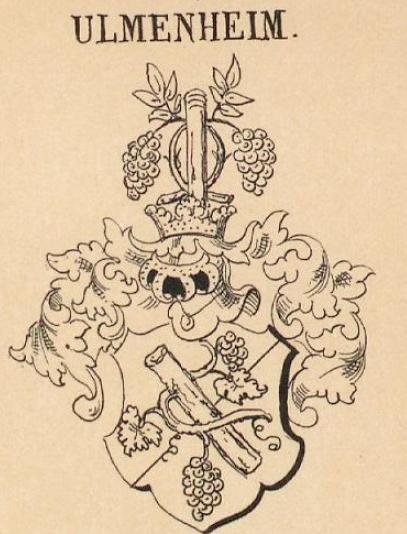 Ulmenheim Coat of Arms / Family Crest 0