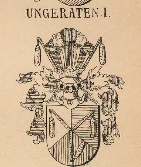 Ungeraten Coat of Arms / Family Crest 0