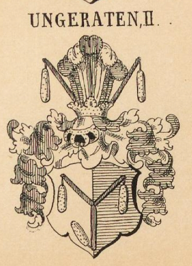 Ungeraten Coat of Arms / Family Crest 1