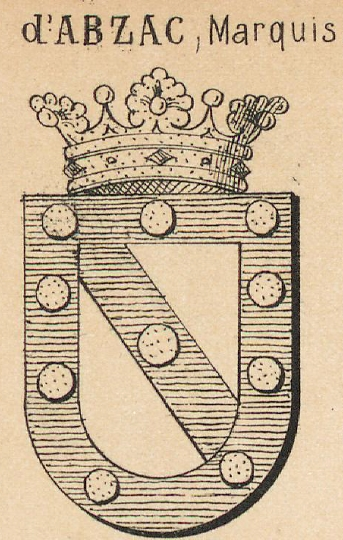 Abzac Coat of Arms / Family Crest 0
