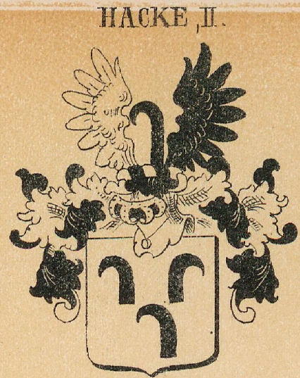 Hacke Coat of Arms / Family Crest 3