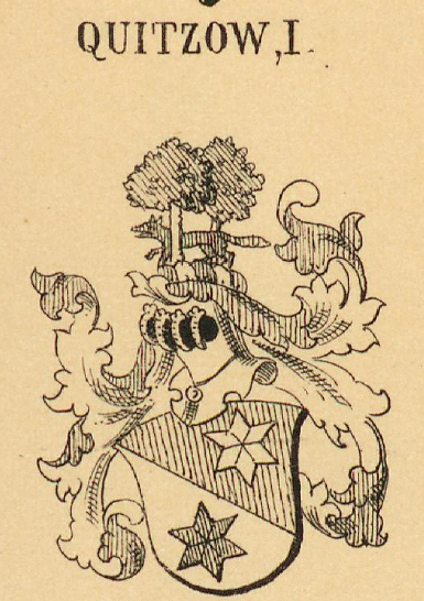 Quitzow Coat of Arms / Family Crest 0