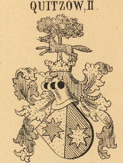 Quitzow Coat of Arms / Family Crest 1