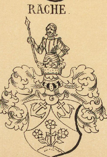Rache Coat of Arms / Family Crest 0