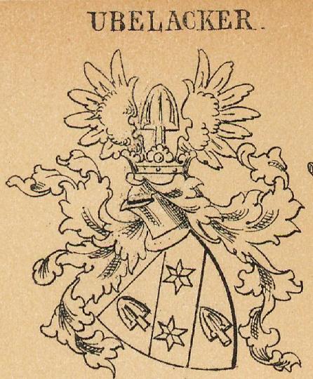 Ubelacker Coat of Arms / Family Crest 0