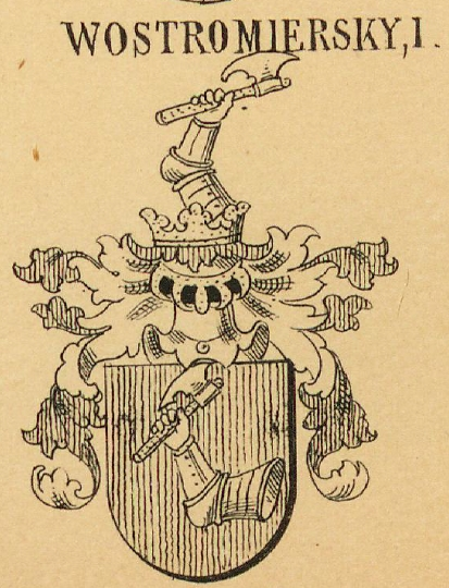 Wostromiersky Coat of Arms / Family Crest 0