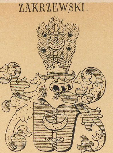 Zakrzewski Coat of Arms / Family Crest 0