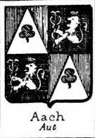 Aach Coat of Arms / Family Crest 0