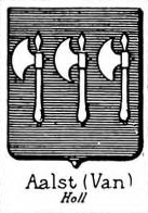 Aalst Coat of Arms / Family Crest 1