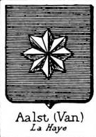 Aalst Coat of Arms / Family Crest 0