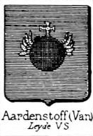 Aardenstoff Coat of Arms / Family Crest 0
