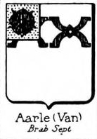 Aarle Coat of Arms / Family Crest 0