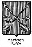 Aartsen Coat of Arms / Family Crest 0