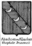 Abachsen Coat of Arms / Family Crest 0