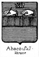 Abaco Coat of Arms / Family Crest 1