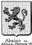 Abaisio Coat of Arms / Family Crest 0
