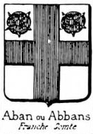 Aban Coat of Arms / Family Crest 0