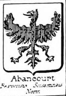 Abancourt Coat of Arms / Family Crest 1