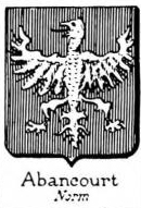 Abancourt Coat of Arms / Family Crest 0