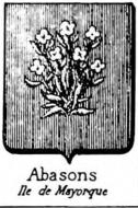 Abasons Coat of Arms / Family Crest 0