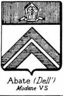 Abate Coat of Arms / Family Crest 2