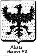 Abati Coat of Arms / Family Crest 1