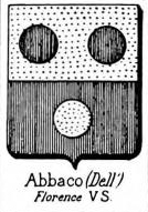 Abbaco Coat of Arms / Family Crest 1