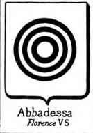 Abbadessa Coat of Arms / Family Crest 2