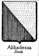 Abbadessa Coat of Arms / Family Crest 1