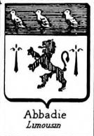 Abbadie Coat of Arms / Family Crest 2