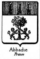 Abbadie Coat of Arms / Family Crest 3