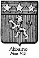 Abbaino Coat of Arms / Family Crest 0
