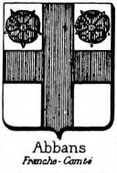 Abbans Coat of Arms / Family Crest 0