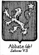Abbate Coat of Arms / Family Crest 3