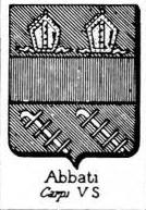 Abbati Coat of Arms / Family Crest 2