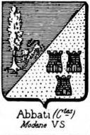 Abbati Coat of Arms / Family Crest 3